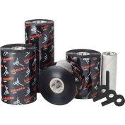 Inkanto AXR 7+ Premium Resin Ribbons, 65mm W x 450m L, Black, 12 Rolls/Case