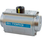 Stainless Steel Double Acting Pneumatic Actuator; 143 In Lbs Torque