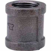 1-1/4 In. Black Malleable Coupling 150 PSI Lead Free