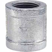 1 à couplage malléable galvanisée 150 lb/po2 sans plomb