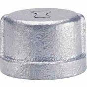 1-1/4 en Cap malléable galvanisée 150psi sans plomb