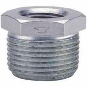 1 en X 3/4 en galvanisé douille hexagonale malléable 150 PSI sans plomb
