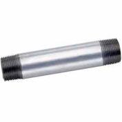 1/2 po X 4 dans des tubes en acier galvanisés mamelon 150 PSI sans plomb