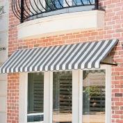 Awntech RR22-3GW, Window/Entry Awning 3-3/8'W x 2-9/16'H x 2'D Gray/White