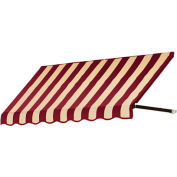 "Awntech RR22-5BT, Window/Entry Awning 5' 4-1/2"" W x 2'D x 2' 7""H Burgundy/Tan"