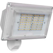 Amax Lighting LED-SL42WH LED Security Light Wall Pack, 42W, 4000 CCT, 3500 Lumens, 82 CRI, White