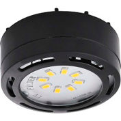 Amax Lighting LEDPL1-BLK LED Puck Light, 4W, 3000 CCT, 360 Lumens, 82 CRI, Black