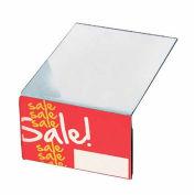 """Azar Displays 142701 Shelf Sign Holder, 5.5"""" x 3.625"""""""