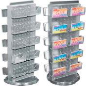 "Azar Displays 700505-YEL, Pegboard Gift Card Display, 8""W x 20""H, YL, 1 Pc"