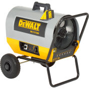 DeWALT® Portable Forced Air Electric Heater with Wheel Kit DXH2003TS, 20,000 Watt 240V, 3-Phase