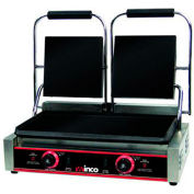 "Winco ESG-2 Electric Sandwich Grill, Flat Plates, 9"", 2 Sets"