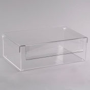 """Cal-Mil 1478 Eco Modern Bin with Cover 19""""W x 13""""D x 5""""H"""