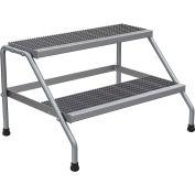 Stand à large pas en aluminium - 2 step - SSA-2W-KD