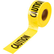 "Empire® Caution Barricade Tape, 3"" x 1000 ft, Yellow/Black"
