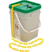 "Mr. Chain 30002-100 Plastic Chain - 1-1/2"" x 100' - Yellow"