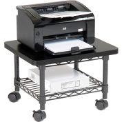 Safco® Products 5206BL Under-Desk Printer/Fax Stand - Black