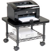 Safco® Products 5206BL Under-Desk Printer/Fax Stand - Black