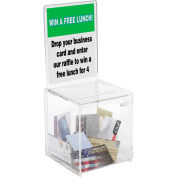 Acrylic Collection Box - Small