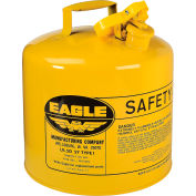 Eagle Type I Safety Can - 5 Gallons - Yellow, UI-50-SY