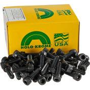 Vis d'assemblage à tête creuse,1/4-20 x 1-1/4 po, acier, bronzage, UNC, paquet de100, États-Unis,Holo-Krome 72102