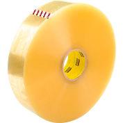 "3M™ Scotch® 375 Machine Length Carton Sealing Tape 3"" x 1000 Yds. 3.1 Mil Clear - Pkg Qty 4"