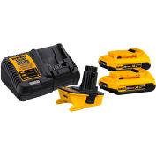 DEWALT DCA2203C 18-Volt à 20-Volt MAX Lithium-ion Battery Adapter Kit pour 18-Volt Tools 2 Pack