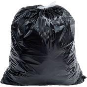Draw-Tuff® Industrial Drawstring Trash Bags, 40-45 Gal, Black, 1.4 Mil, 150/Case