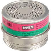 MSA Comfo® Respirator Cartridges, Ammonia/Methylamine/P100, 6/Box, 815181