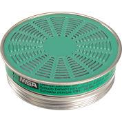 MSA Comfo® Respirator Cartridges, Ammonia/Methylamine, 10/Pack, 464033