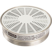 MSA Comfo® Respirator Cartridges, Acid Gas, 10/Pack, 464032