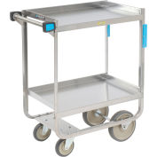 Lakeside® 543 NSF HD Stainless 2 Shelf Cart 38-5/8 x 22-3/8 x 37-1/8 700 Lb Cap