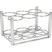 Drive Medical 18111 Deluxe Oxygen Cylinder Rack, For Use with 6 D or E Cylinders