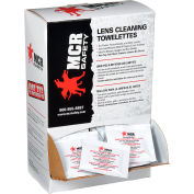 MCR Safety LCT Lens Cleaning - Spec Saver Towelette, 100 Wipes/Box