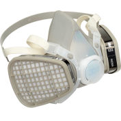3M™ 52P71 Half Facepiece Disposable Respirator Assembly, OV/P95, Medium, 1 Each