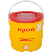 Igloo 431 - Beverage Cooler, isolé, jaune / rouge, 3 Gallons