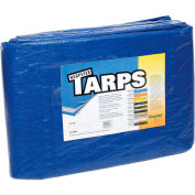 15' x 35' Light Duty 2.9 oz. Tarp, Blue - B15x35