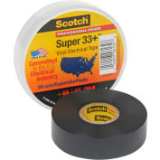 "3m™ Scotch® Super 33 +™ ruban isolant en vinyle, 3/4 ""X 66', noir"