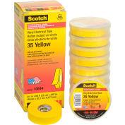 "3M Scotch® Vinyl Electrical Color Coding Tape 35-Yellow, 3/4"" X 66', 80610833966 - Pkg Qty 10"