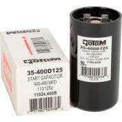 Condensateur de démarrage Rotom 400B, 400-480MFD, 110/125 V, rond