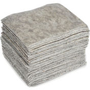 """Chemtex OILM1087 Sorbent Eco-Friendly Pads, Universal,16"""" x 18"""", Heavy Weight, Cotton, 100/Pack"""