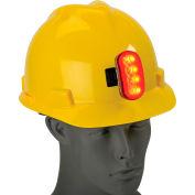 Hard Hat Safety Light, ERB Safety 10031 - Red