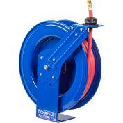 "Coxreels SH-N-550 3/4""x50' 300 PSI Heavy Duty Spring Retractable Low Pressure Hose Reel"