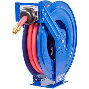 """Coxreels TSHF-N-635 1""""x 35' 300 PSI Spring Retractable Fuel Delivery Steel Hose Reel"""