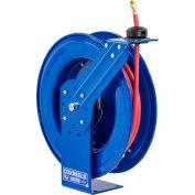 "Coxreels SH-N-3100 3/8""x100' 300 PSI Heavy Duty Spring Retractable Low Pressure Hose Reel"