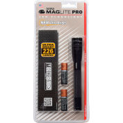 Maglite® SP2P01H Pro™ Mini 2 Cell AA LED lampe de poche noire