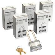 Master Lock® no. 3KALH générales sécurité feuilleté à clé cadenas comme, qté par paquet : 6