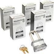 Master Lock® no. 1KALF générales sécurité feuilleté cadenas - clés identique, qté par paquet : 6