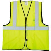 Veste Standard De mesh de valeur OccuNomix, classe 2, Hi-Vis Yellow, L/XL, ECO-GC-YL/XL