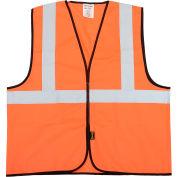 OccuNomix Classe 2 Veste solide Salut-Vis Orange L/XL, ECO-G-OL/XL