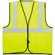 OccuNomix Class 2 Solid Vest Hi-Vis Yellow 2XL/3XL, ECO-G-Y2/3X